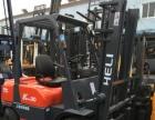 二手叉车价格原装动力油漆杭州3T二手叉车物流专用堆高车