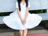 童装 外贸 韩国女童白色公主裙儿童演出裙礼服 纱裙大摆连衣裙