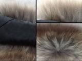 韩版貉子毛毛领子假领子围脖围巾披肩大衣领春秋冬厚款皮草毛领