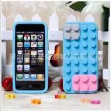 积木iPhone-5苹果手机外壳保护套 手机硅胶套 不重利润 现货批发