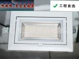 LED长方形筒灯天花灯射灯38w /筒灯 led
