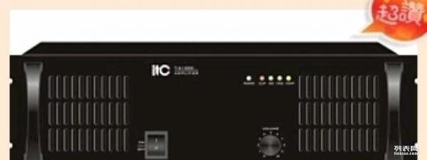 itc t-61000 1000w大功率后级功放