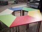 衡水定做办公家具办公桌工位学校家具培训桌椅