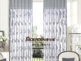 高档窗帘品牌成品可定做别墅窗帘/格子条纹欧式卧室窗帘