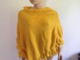2014欧美时尚流行镶边大披肩 套头围巾