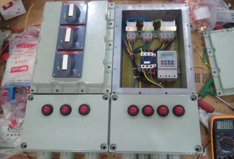 动力配电箱电路图 临时配电箱接线图详解