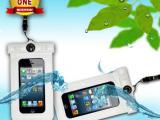 苹果5手机防水袋批发 带温度计 游泳 戶外防水套 iphone5