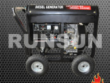 融商融商 开架式5千瓦柴油发电机组 出口欧美品质RUNSUN