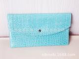 厂家直销 2014年韩国新款女士手拿包女包鳄鱼纹手拿潮包信封包