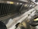 广州油烟机清洗专业餐厅饭店厨房烟罩净化器风机清洗公司
