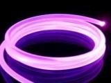 光纤,光纤照明,光纤灯,实心侧光光纤,通