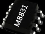供应非隔离恒流LED日光灯驱动芯片茂捷M8831兼容SM7523