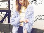lily brown圈圈毛衣外套 手工版