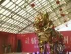 盐城鲸鱼岛展览活动大型圣诞树展览黄金狮展品租赁