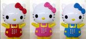 2014新品上市 25CM  hello kity 猫灯光投影音乐机  厂家直销
