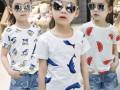 童装特价清货批发安徽批发小孩子短袖一手货源四五岁儿童夏装货源