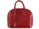 2013新款潮流女包欧美带锁女士包包漆皮亮面牙签纹贝壳手提包