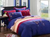 高档欧式床上用品 全棉活性绣花四件套  纯棉刺绣床上用品代理