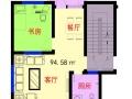 泰山区温泉路国泰山庄 3室2厅1卫 94.58平米