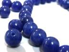 各种串珠diy手工饰品材料/天然合成染色青金散珠青金石圆珠子批发