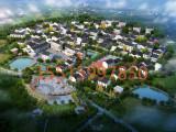 鄭州市周邊度假村休閑山莊旅游區等大場3D效果圖設計