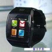 批发生产手机 蓝牙智能手表手机 SIM卡穿戴设备 全面兼容安卓系统