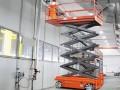 中山坦洲电动剪叉式升降机出租 12米液压升降平台出租