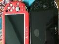 出两台9成新PSV游戏机
