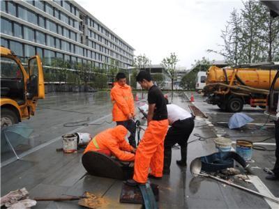 市政管道疏通检测清淤污水管道疏通工业管道高压清洗清理化粪池