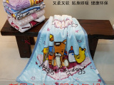 儿童毛毯幼儿园学生加厚盖毯秋冬新生婴儿抱