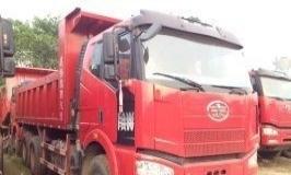 解放j6后八轮国四自卸车低价出售 可办按揭贷款!