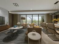 龙湖两江新宸云顶大平层户型设计改造图 现代简约风格作品