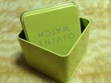 厂家铁盒定制正方形 手表包装盒首饰盒定制批发马口铁盒定做