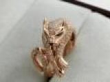 来自卡地亚系类豹为主题 18K玫瑰金