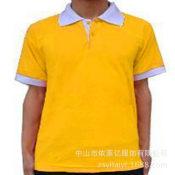 刺綉广告衫定做 polo衫空白文化衫定制 广告团体服学生班服定做