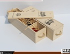 单支红酒盒红酒木盒酒盒木质葡萄酒礼盒通用红酒包装盒子木箱定制