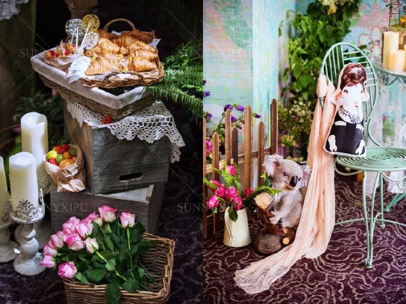 台州三门县Sunny喜铺婚礼策划粉红色幸福套餐系列