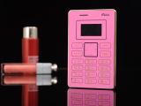 艾尔酷魔咔X5超薄袖珍卡片手机儿童定位低价手机