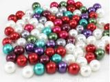 厂家批发 亚克力珠子塑胶无孔圆珠 塑料 实心珠 无孔珠 树脂配件