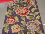 家用高档客厅茶几欧式地毯纯羊毛可定制卧室床边满铺现代手工地毯