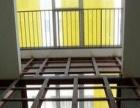 彩钢房制作二层搭建钢结构楼梯洋房别墅扩建改造阁楼制