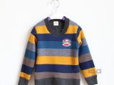 2014秋季新款 男童外贸韩版猴子针织衫 儿童加厚保暖毛衣套头衫