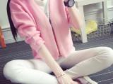 开衫女2015秋装学生毛衣新款韩版女上衣针织衫女短外套女装潮秋款