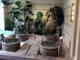 陶瓷洗浴大缸厂家定制口径90/一1.1米温泉会所泡澡缸
