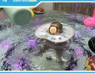 西宁透明钢化玻璃游泳池销售价格 萌贝湾