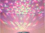 魔球灯厂家供应声控小魔球 七彩球泡灯 旋转球泡灯 舞厅魔球灯