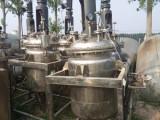 哪里有出售9成新15吨搪玻璃反应釜 厂家处理转让