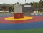深圳彩色透水混凝土价格,海绵城市路面施工胶凝剂密封剂特价批发