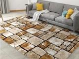 臥室床邊地毯定做 水晶絨印花地毯
