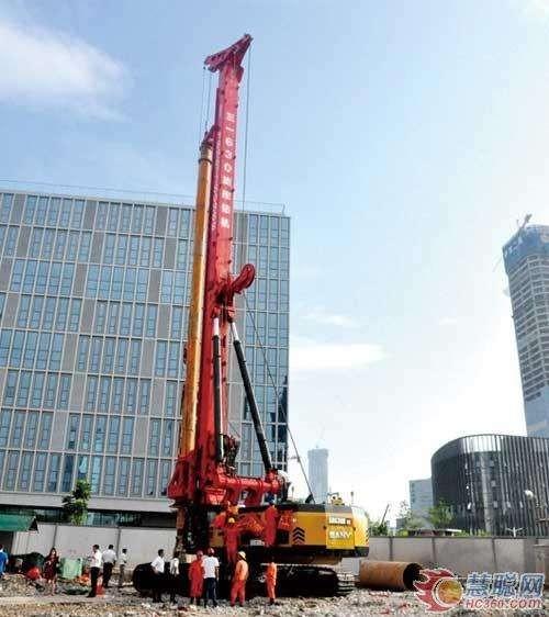 梧州市贺州市旋挖钻机施工公司低价格承接桩基础工程施工